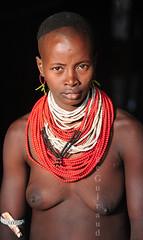 Karo (guiraud_serge) Tags: tribe karo tribu ethiopie valléedelomo sergeguiraud jabiruprod