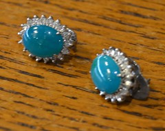 "JADE? & DIAMOND EARRINGS • <a style=""font-size:0.8em;"" href=""http://www.flickr.com/photos/51721355@N02/21882327201/"" target=""_blank"">View on Flickr</a>"