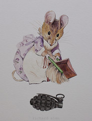 No todo es tan bonito como lo pintan (Richard Alen) Tags: drawings beatrixpotter watercolour acuarela dibujos pinturas granadademano richardalen