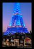 Eiffel Tower at blue hour (Marc Funkleder Photography) Tags: blue paris france night nikon eiffeltower eiffel bleu toureiffel bluehour nuit d300 nikond300 heurebleu