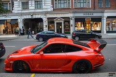 Gemballa power (Beyond Speed) Tags: uk orange london cars photography nikon unitedkingdom 911 automotive porsche supercar spoiler exotics automobili avalanche 997 biturbo nikond3200 gemballa hypercar