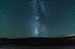 Milky Way During The Total Eclipse of The Super Moon II (Z-Imagery) Tags: longexposure moon como blood nikon colorado outdoor super southpark tokina hunters milkyway d300 parkcounty totaleclipse 1116mmf28