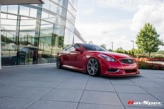 "WORK Emotion T7R on Infiniti G37 • <a style=""font-size:0.8em;"" href=""http://www.flickr.com/photos/64399356@N08/22140008542/"" target=""_blank"">View on Flickr</a>"