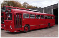 BMMO S16 (zweiblumen) Tags: uk england bus birmingham worcestershire 747 circular 1964 transportmuseum polariser wythall midlandred 5545 canoneos50d zweiblumen canonspeedlite430exii 6545ha bmmos16 museumservice