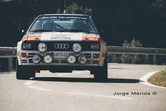 Audi Coupe Quattro (jmeridafoto) Tags: tarmac rally legends audi coupe catalua motorsport quattro 2015