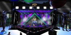Rihanna Tribute Concert (Carla Putnam) Tags: concert band sl secondlife tribute bahamas rihanna