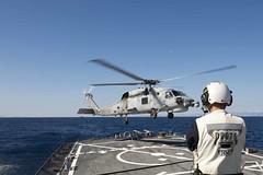 151102-N-TC720-199 (CNE CNA C6F) Tags: europe sailors usnavy patrol nato mediterraneansea ussdonaldcook ddg75 snmg2 6thfleet activeendeavour npaseeast navypublicaffairs navymc