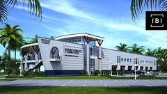Rendering of San Jacinto College Maritime Technology and Training Center (San Jac College) Tags: industry port training construction marine technology bluewater houston center maritime captain tugboat pasadena facility simulator communitycollege import export intern highereducation shipchannel laporte workforce associatedegree deckhand brownwater sanjacintocollege classtime sanjac tankerman seatime