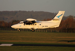 OK-RDA L-410UVP-E City Wing (ChrisChen76) Tags: gloucester czechrepublic staverton l410 l410uvpe citywing