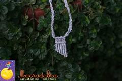 Collar Macram (Macradabra) Tags: handmade pan necklaces regalos collares flauta regalitos hechoamano macram hechoencolombia macradabra