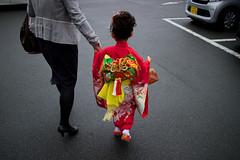 娘、七五三 (falhorse) Tags: japan canon eos celebration kimono kanagawa 着物 七五三 子供 22mm efm こども 寒川神社 祝い efm22mm