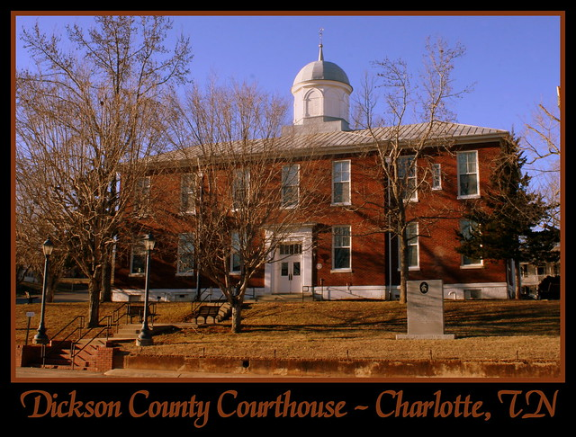 For Sale: TN Courthouse Postcard Collection: Dickson