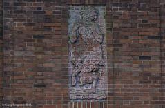 All in All........17th December 2015. (craigdouglassimpson) Tags: england sculpture greek pipes lancashire pan mythology redbrick padiham