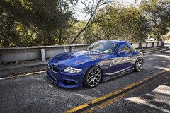 g2DSC06997 (violetnites) Tags: blue hardtop engineering convertible m bmw rogue z4 flush aggressive tuning dropped exhaust modded roadster stance interlagos coilovers rieger e85 z4m fitment