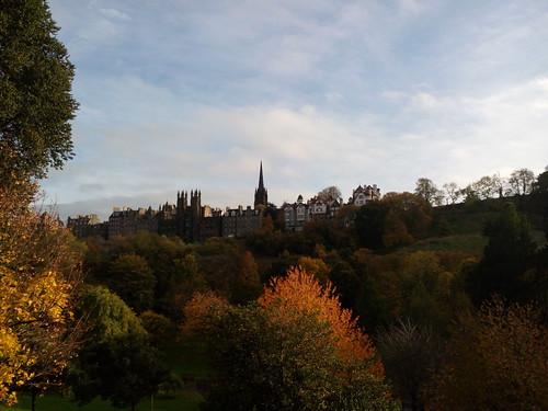 Visite d'Edinbourg, Écosse