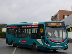 Arriva Midlands 3334 FJ64 EUW on 4 (sambuses) Tags: 3334 arrivamidlands fj64euw