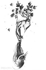 (farbwerth) Tags: abstract frau metamorphose farbwerth