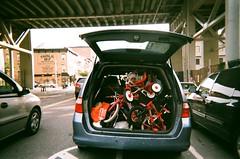 4th Ave, Gowanus (slo:motion) Tags: brooklyn nyc newyorkcity newyork ny newyorknewyork 718 kingscounty contaxt2 provia400x kids bicycle bikes bike bicycles gowanus table87