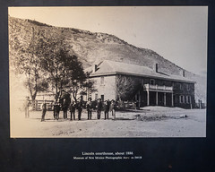 Lincoln Courthouse, c1886 (Serendigity) Tags: lincoln usa photograph historic museum unitedstates newmexico town wildwest