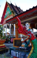 Vang Vieng (makingacross) Tags: laos pdr nikon d3000 vang vieng vangvieng wat done hor watdonehor temple snake naga serpent