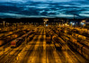 Rangierbahnhof Hagen-Vorhalle (achim-51) Tags: outdoor skyline bahnhof rangierbahnhof hagen hagenvorhalle dmmerung blau himmel wolken architektur landschaft panasonic dmcg5 lumix