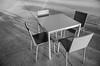 K.I.S.S. (Robert_Keller) Tags: table chairs furniture abstract geopetry angles blackandwhite bw tampamuseumofart tampa florida
