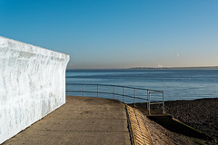 Canvey sea wall
