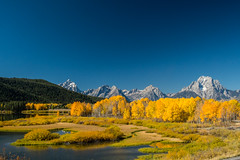 Grand Tetons (onewithal) Tags: grandtetons trees barns autumn mountains rivers