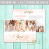 Layered Photoshop Template (daphnepopuliers) Tags: psd photoshop template adobe layered photocard giftcard giftcertificate business marketing photostudio photography photographer