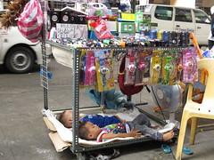 sleeping amidst traffic (DOLCEVITALUX) Tags: manila philippines sleepingchildren sleep children road outdoor photojournalism