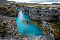 Auslauf des Sigöldufoss Wasserfalls (AnBind) Tags: island fotoreise 2016 ereignisse urlaub suðurland is