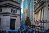New York Stock Exchange New York City NY with Christmas Tree (mbell1975) Tags: newyork unitedstates us manhattan city usa american wallstreet wall st street nyse stockexchange borse tock exchange boerse börse bolsa bourse borsa beurs new york stock ny christmas tree