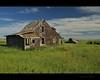 appreciation (Gordon Hunter) Tags: angular shingles house home unusual abandoned farm barn sun summer prairie fields ab alberta canada gordon hunter rural