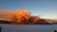 IMG_4227 20160714_054810 (JoStof) Tags: indonesia java bromo volcano eruption ash seaofclouds smoke cemorolawang sunrise tengger caldera batok jawatimur indonesië idn