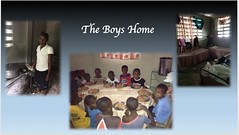 Much of the work supported the boys home in the town.