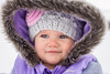 Lets go Sledding! (bflinch1) Tags: baby babygirl babyportrait portrait cold winter sledding cute adorable hood hat 5mothsold girl naturallightportrait eyes smile jacket laramie winterfun