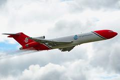 G-OSRA Boeing 727-200 (SteveDHall) Tags: aircraft airport aviation airfield aerodrome aeroplane airplane airliner airliners airshow farnborough farnboroughairshow 2016 display oilspillresponse oilspill sprayer boeing boeing727200 727 b727 b722 b727200 722 727200 2excel gosra boeing727