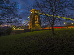 When The Light Comes Out (Wizard CG) Tags: clifton suspension bridge bristol england uk long exposure landscape epl7 architecture ed ngc world trekker micro four thirds 43 m43 olympus mzuiko digital tourist attraction outdoor
