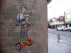 Toronto 2017 (bella.m) Tags: graffiti streetart urbanart toronto canada art tbonez segway wheatpaste pasteup ninja