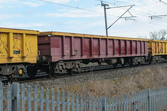 503500 Kingsthorpe 050217 (Dan86401) Tags: 503500 503 mla bogie open ballastbox wagon freight greenbrier ews db dbcargo redsnapper fishkind engineers departmental infrastructure wilsonscrossing kingsthorpe northampton wcml 6r05