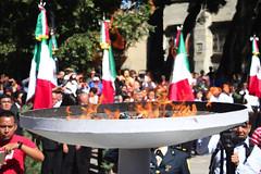 Ceremonia de Incineración, Reposición y Abanderamiento de Instituciones Educativas y Dependencias Gubernamentales