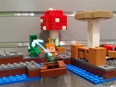 Toy Fair 2017 LEGO Minecraft 02 (IdleHandsBlog) Tags: minecraft toys videogames lego constructionsets toyfair2017