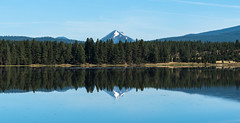 Mount McLoughlin, Oregon (maytag97) Tags: maytag97 mount mcloughlin mt oregon cascades range forest wilderness reflection water river lake sky blue