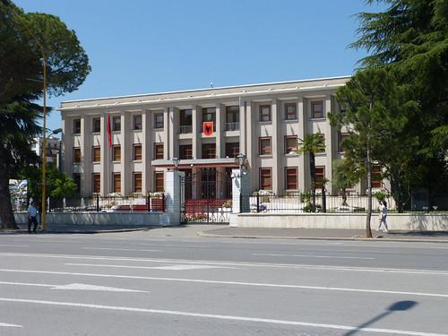 Tirana, Elnöki palota