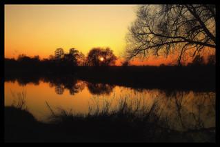 A Wey Sunset