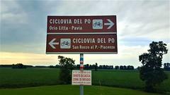 Via Francigena - Orio Litta - Piacenza (Argine Nord)