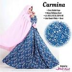 Carmina Syar'i L 175,XL 180,XXL 185 Dress bublecrep,jilbab wolfis thumbnail