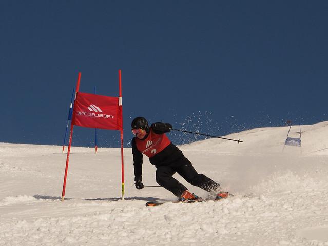 Treble Cone Masters Ski Race 201521