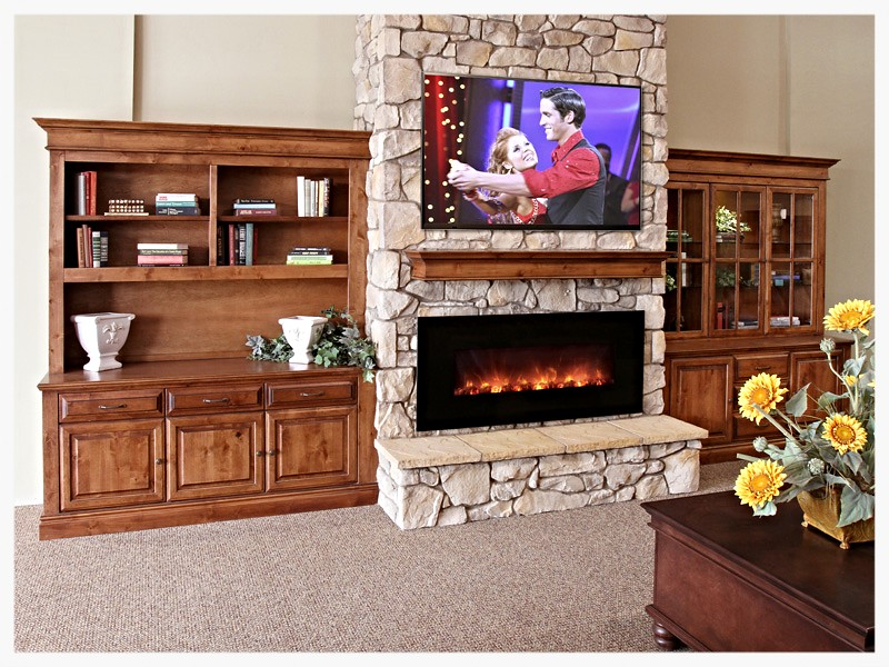 Modernflame AL58 electric fireplace