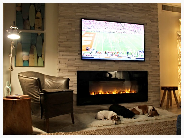 Modernflame AL38 electric fireplace